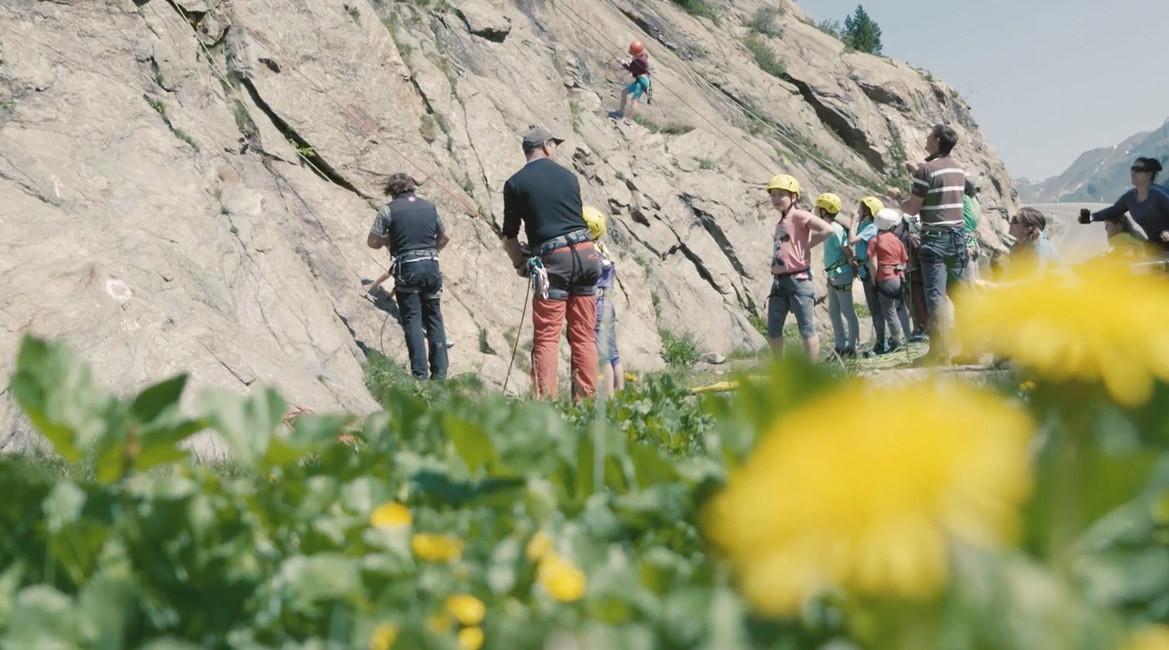 Klettern für Groß und Klein
