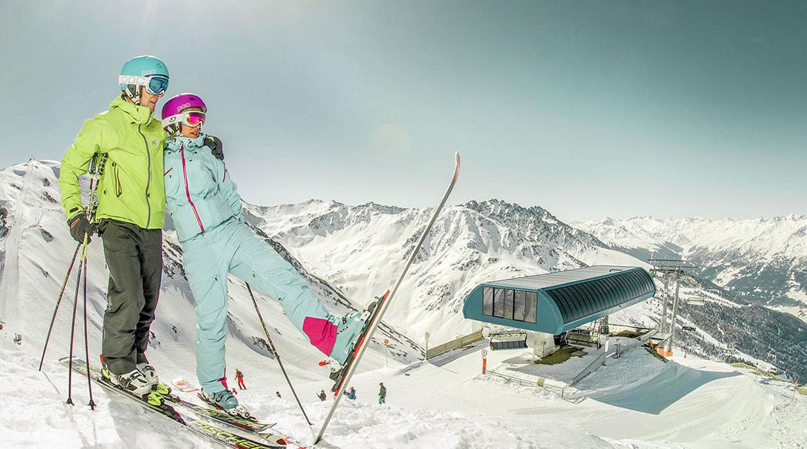 Skigebied Nauders