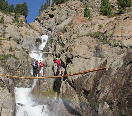 Beeindruckende Klettersteige