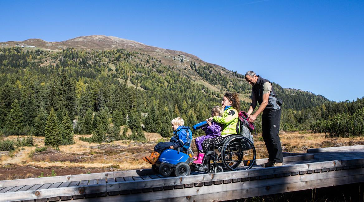 Bergsommer aktiv erleben - barrierefrei