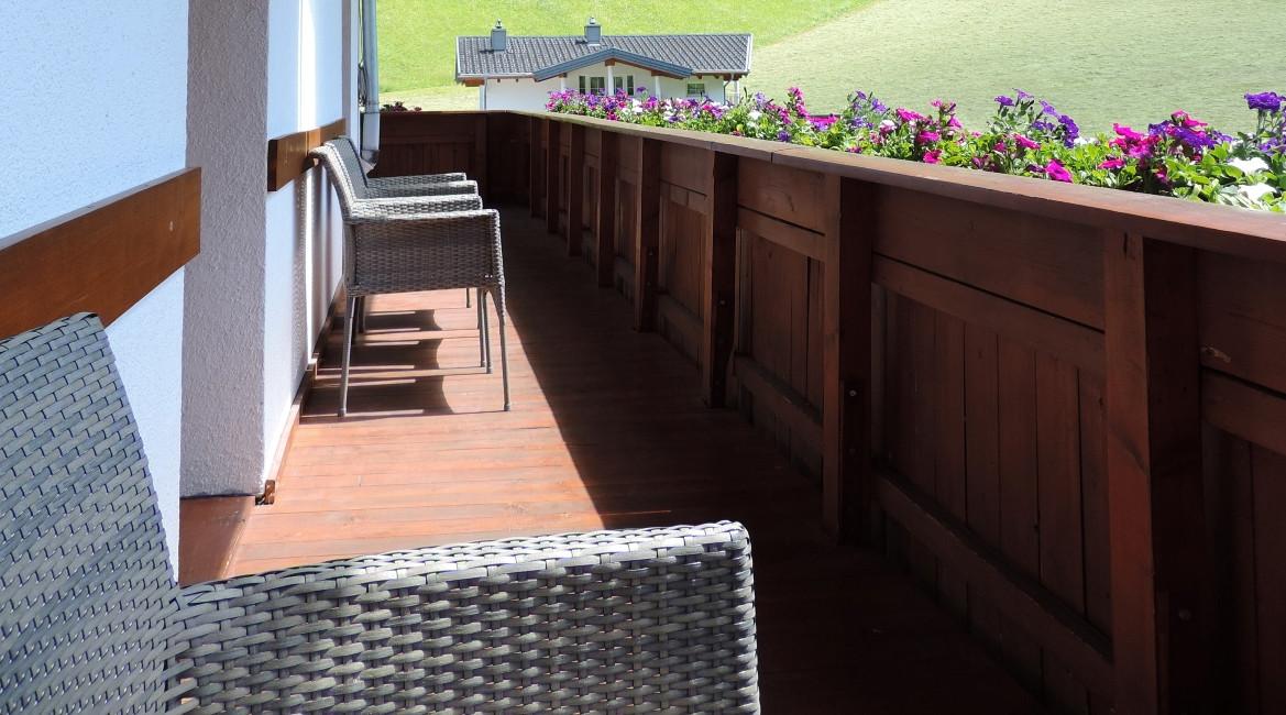 Gallrutt Balkon Südseite