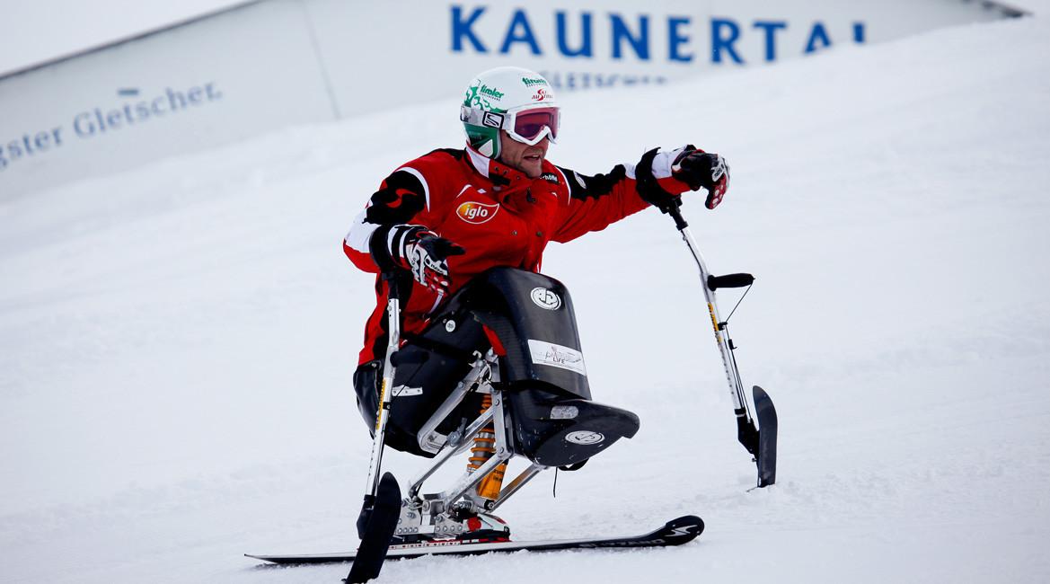 Barrierefreies Skifahren im Kaunertal